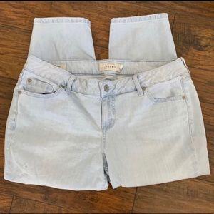 Torrid Skinny Cropped Jeans